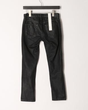 ブラック CROPPE pantsブラックデニムパンツを見る