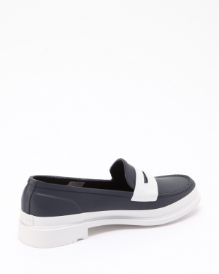 NAVY/WHITE W REF CONTRAST PENNY LOAFERSを見る