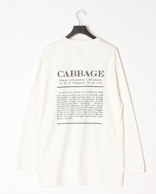 WHITE re.mate×niche vg long-sleeve t-shirts(CABBAGE)を見る