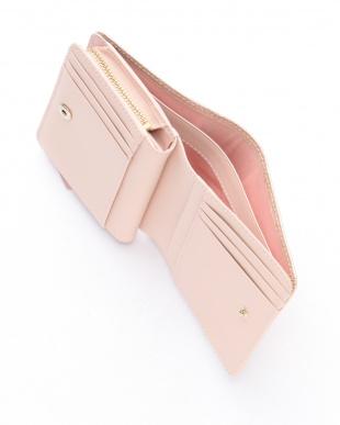 ピンク マリーゴールド 二つ折り財布を見る
