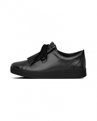 All Black RALLY ANNIVERSARY FRINGE SNEAKERSを見る