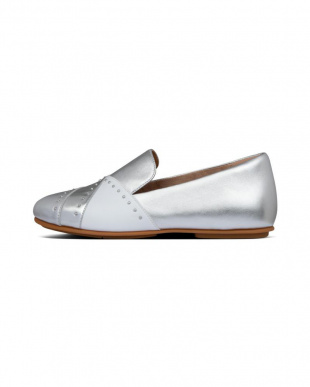 Silver ANGELINA MICROSTUD LOAFERSを見る