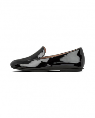 All Black LENA PATENT LOAFERSを見る