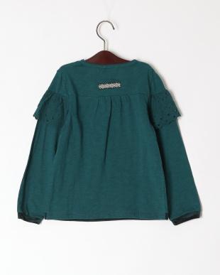 グリーン 長袖Tシャツシャツを見る