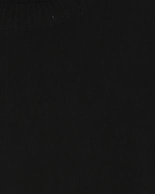 ブラック ウォッシャブルウールニットを見る