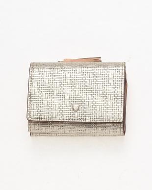 シャンパン [トプカピ] TOPKAPI メッシュ柄型押し・三つ折り財布 RITMO リトモを見る