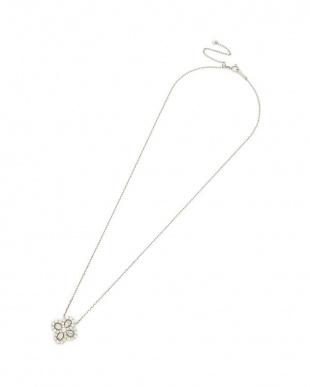 プラチナ PT ダイヤモンド ネックレスを見る