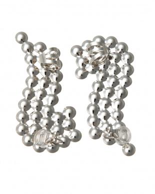 28/silver Ball ear cuffを見る