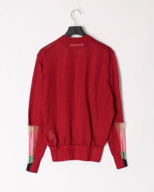22/dark red  Bright knit pulloverを見る