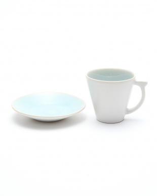 オーシャンブルー コーヒーカップ&ソーサー 15clを見る