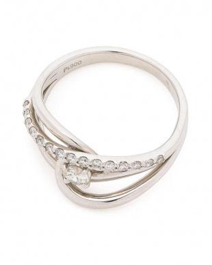 プラチナ ダイヤモンド プラチナ デザインリングを見る