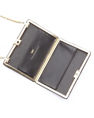 black Card Case on Chainカードケース ポシェットを見る