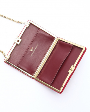 oxblood Card Case on Chainカードケース ポシェットを見る