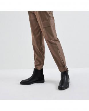 Black テクスチャード チェルシーブーツ / Textured Chelsea Bootsを見る