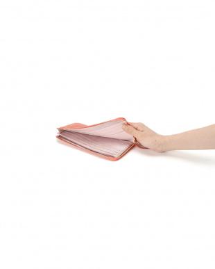 オレンジ 牛革 L字型長財布を見る