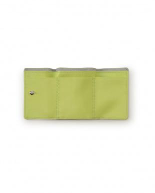 グレー 牛革 ミニバッグ用の小さなお財布を見る
