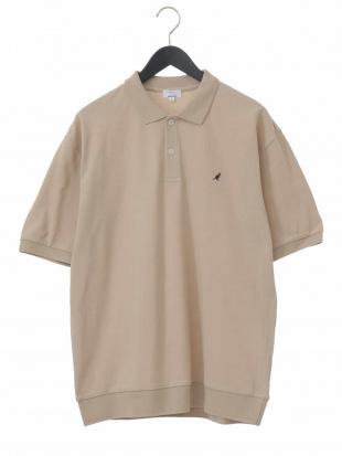 ベージュ KANGOL/カンゴール 刺繍ワイドシルエットポロシャツ[WEB限定サイズ] a.v.v HOMMEを見る