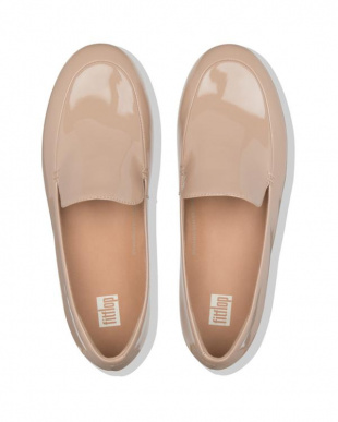 Taupe LENA PATENT LOAFERSを見る
