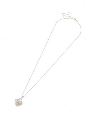 プラチナ Pt900/850 ダイヤモンド 1.00ct デザインネックレスを見る
