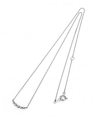 ホワイトゴールド K18WG H&Cダイヤモンド ネックレスを見る