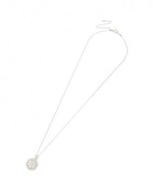 プラチナ ダイヤモンド0.85ct ネックレス(スライド付)を見る