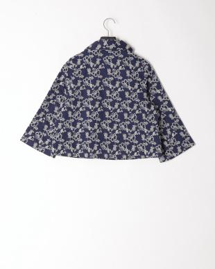 68/青系I(ネイビー) 刺繍ショートジャケットを見る