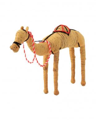 CAMEL COIR ANIMAL CAMEL L × S SETを見る