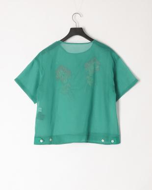 green×poppy 花刺繍ブラウスを見る