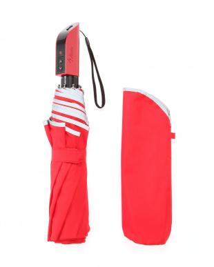 レッド 電動開閉傘 スマートジェイオートを見る