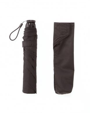 ブラック 手を濡らさずに畳める超軽量耐風傘を見る