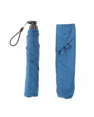 ロイヤルブルー 手を濡らさずに畳める超軽量耐風傘を見る