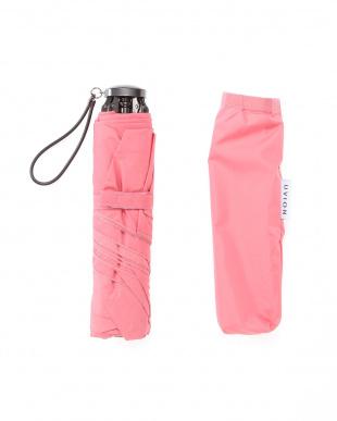 ピンク 軽量カーボンミニ傘を見る