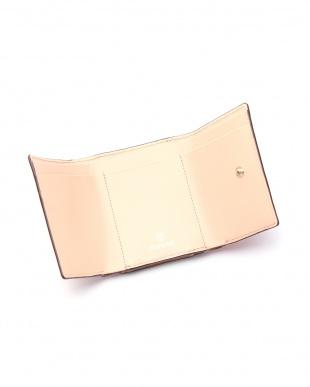 コーラルオレンジ [トプカピ] TOPKAPI メッシュ柄型押し・三つ折り財布 RITMO リトモを見る