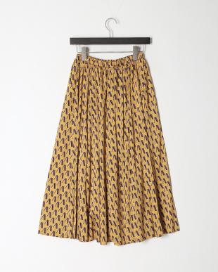 ヤマブキ  ヴィンテージプリント フレアスカートを見る