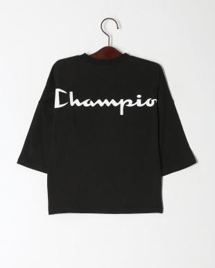 ブラック Champion  Back logo Teeを見る