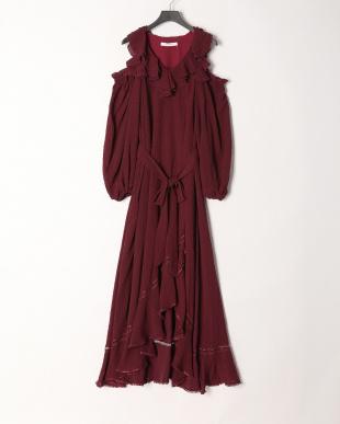 BRD コールドショルダーロングドレスを見る