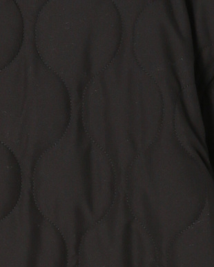 ブラック マットタフタパイピングキルトコートを見る