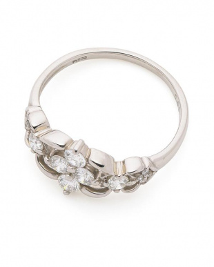 プラチナ ダイヤモンド プラチナリングを見る