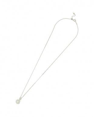 プラチナ ダイヤモンド ネックレスを見る