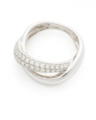 ホワイトゴールド K18WG ダイヤモンド0.7ct リングを見る