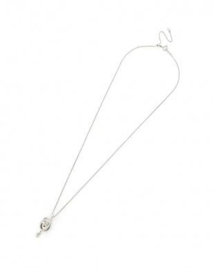 ホワイトゴールド ダイヤモンド×K18WG ネックレスを見る