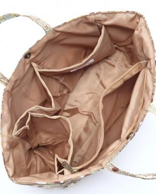 ブラウン バッグインバッグを見る