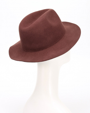 D.BROWN FELT HATを見る