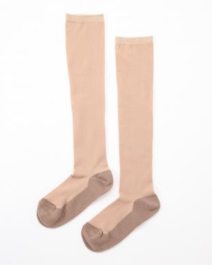 オークル まるでストッキングを履いたようなくつした あったかタイプ4足セットを見る
