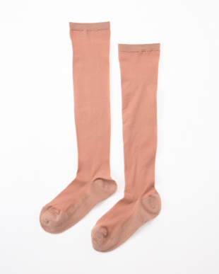 ピンクベージュ まるでストッキングを履いたようなくつした あったかタイプ4足セットを見る