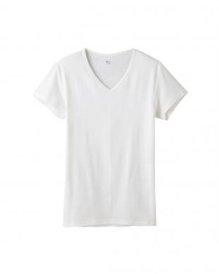 オフホワイト VネックTシャツ×3点 SETを見る
