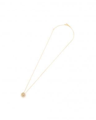K18YG 天然ダイヤモンド 計0.8ctアップ セブンストーン ネックレスを見る