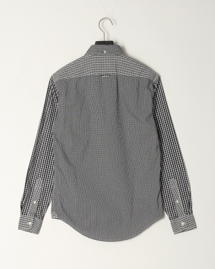 Gingham Patch Black LS gingam patchを見る