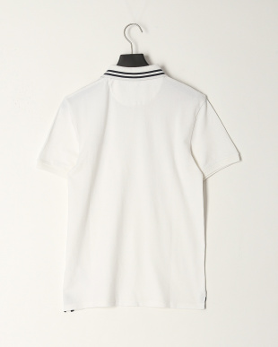White AF TFO SS Millers River STRETCH Tipped Pique Polo (Slim)を見る