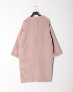 ピンク シャギーコートを見る